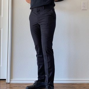 H&M Black Skinny Fit Dress Pants